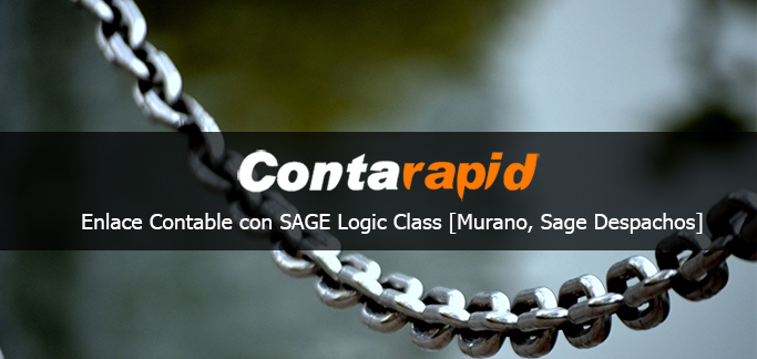 Enlace contable entre Sage Logic Class y Contarapid