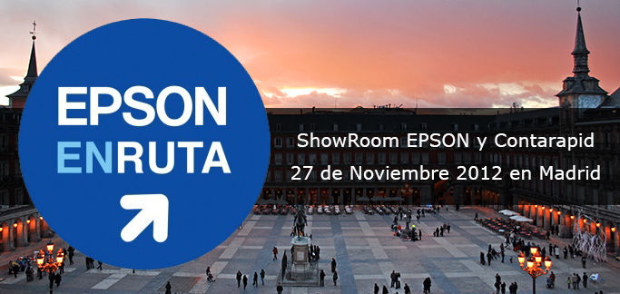 Contarapid forma parte del Showroom EPSON En Ruta 2012 de Madrid
